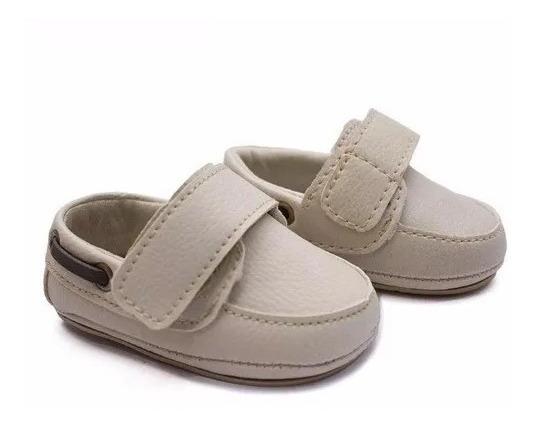 Sapato Bebê Kids Masculino Baby Mocassim Recem Nascido