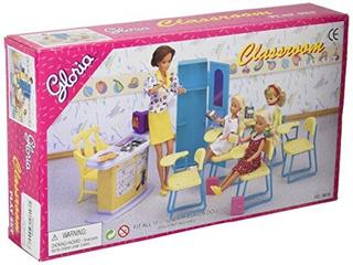 Barbie Size Dollhouse Furniture - Juego De Salon De Clases