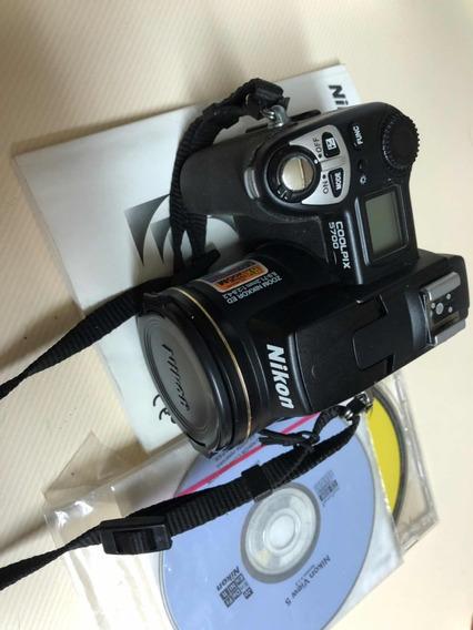 Nikon Coolpix 5700 - Defeito!