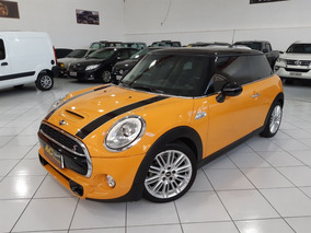 Mini Cooper S Turbo Blindado N Iii-a 2015 Laranja Teto Top