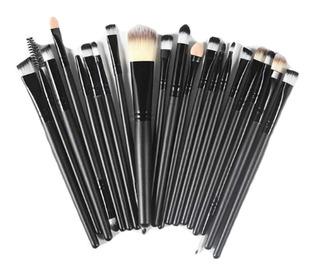 20 Brochas Pinceles Profesional Maquillaje Pelo Sintetico