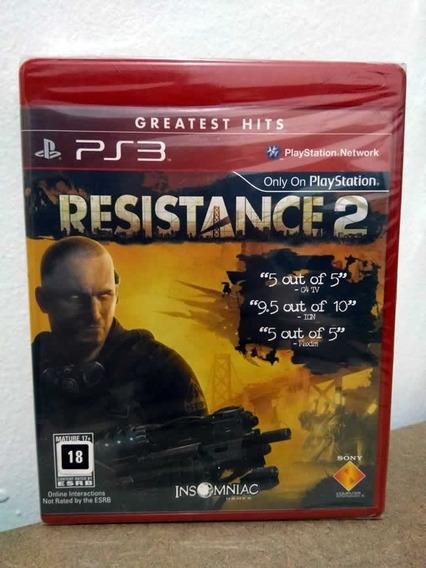 Ps3 Resistance 2! Mídia Física! Novo E Lacrado