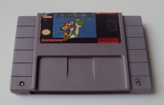 Super Mario World Original - Snes - Funcionando E Salvando