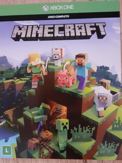 Minecraft Xbox One Código 25 Dígitos