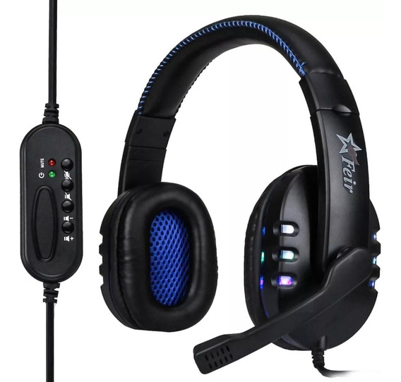 Fone Ouvido Headset + Grátis Mousepad - Pc Ps3 Ps4 Xbox