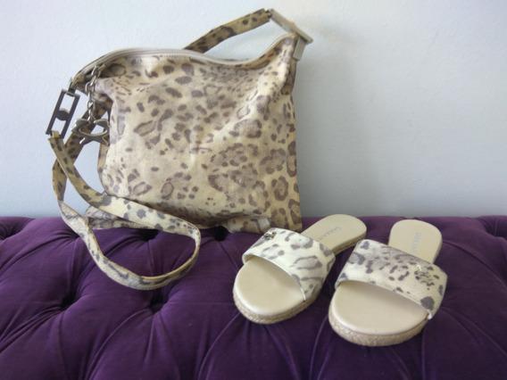 Cartera + Zapatos A Juego Animal Print Sarkany