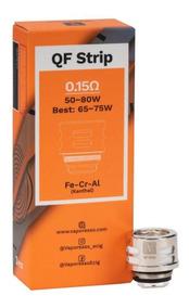 Coil Qf Strip 0.15ohm P/ Skrr Luxe Vaporesso Cx C/3pçs