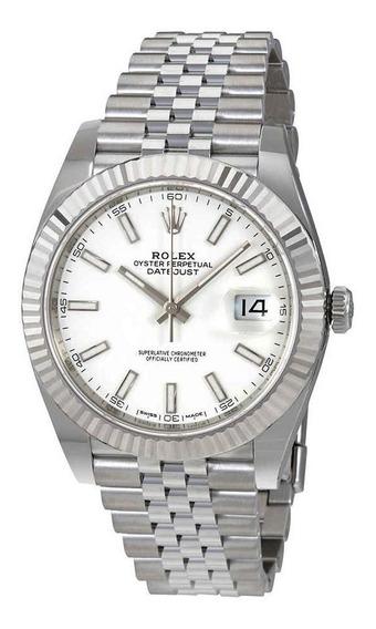 Relógio Eta - Modelo. Datejust - Base Eta 2840 Aço 904l.
