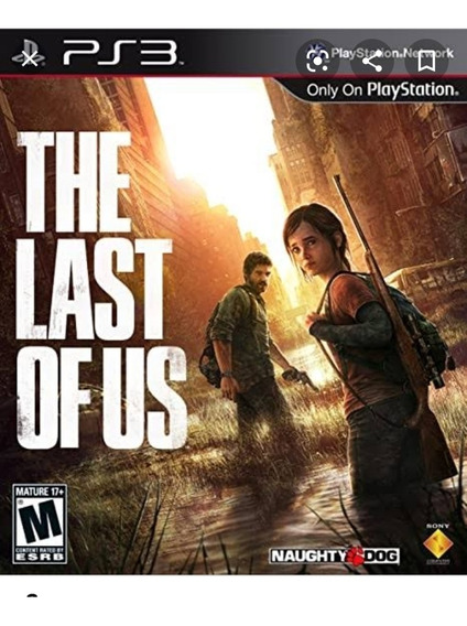 The Last Of Us Ps3 Mídia Física