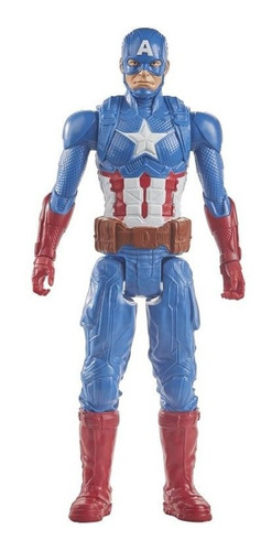 Imagen 1 de 2 de Figura Avengers Titan Hero 12 In Capitan America E7877
