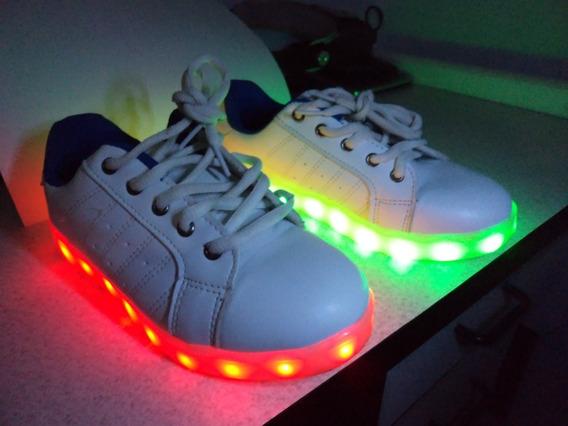 Zapatos Deportivos De Luces Led Niño