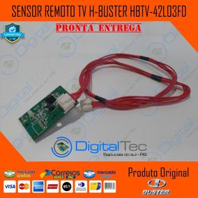 Sensor Remoto Tv H-buster Hbtv-42l03fd Testado + Flat