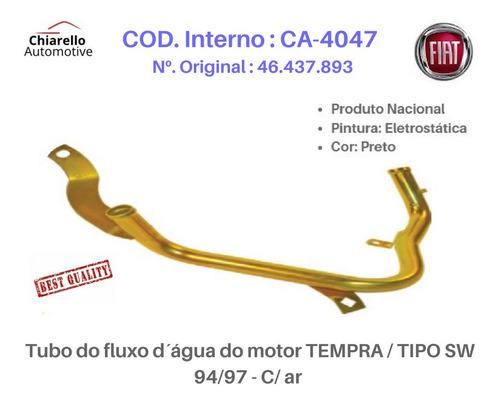 Tubo Dágua Do Motor Marea 99/00 - 2.0 Mpi 142cv 20v ¿ Gas