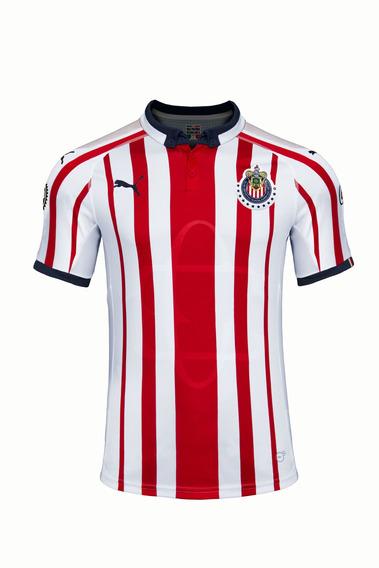 Puma Playera Chivas Para Hombre Roja 703876 01