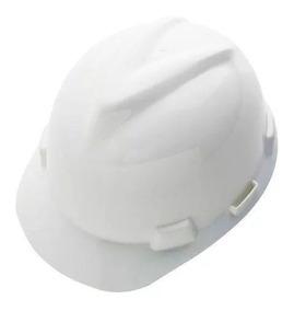 Capacete De Segurança Msa Carneira Construção Civil Branco