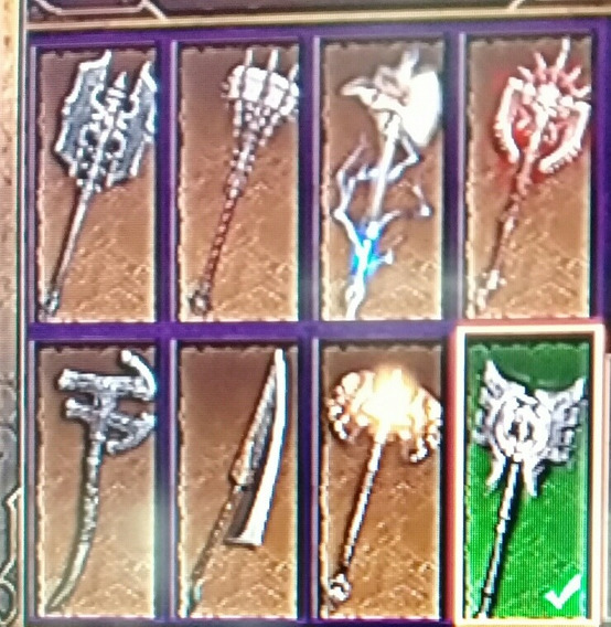 Itens Diablo 3 Ps3:machados De Duas Mão Lendários,editados