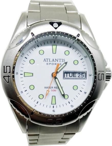 Relógio Masculino Atlantis Luminoso