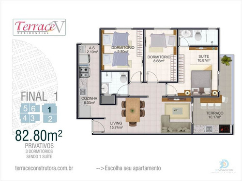 Imagem 1 de 15 de Apartamento - Venda - Vila Mirim - Praia Grande - Dna1403