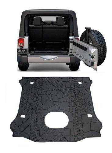 Imagen 1 de 4 de Tapete De Cajuela Jeep Wrangler Sahara Rubicon Sport 17-18