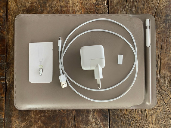iPad Pro 9.7 32gb - Sem Pencil - Comluva De Couro Original