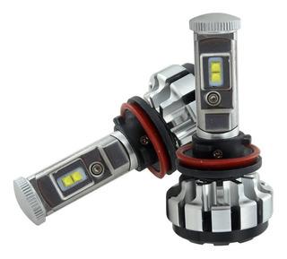 Kit Turbo Led T1s H1 H3 H7 H11 9005 9006 Cree Xpl 6000k T6