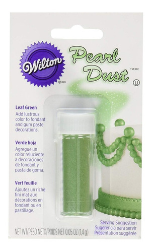 Polvo Perlado Verde Wilton Original 1,4g 703-215