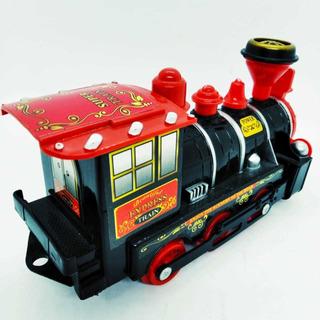 Locomotora Tren Con Sonido Y Luces