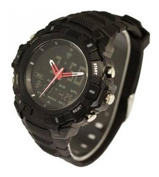 Relógio Masculino Tuguir Anadigi Tg5006 A Prova Dagua