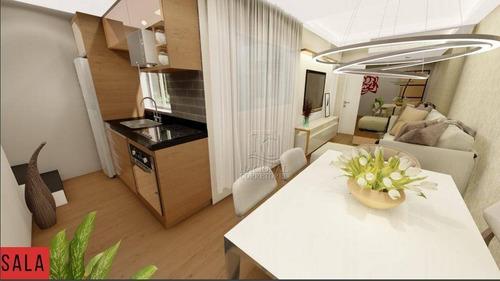Apartamento À Venda, 58 M² Por R$ 279.000,00 - Vila Humaitá - Santo André/sp - Ap12102