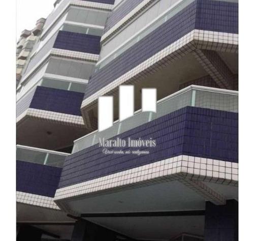Imagem 1 de 15 de Apartamento 2 Dormitórios Sacada Gourmet Na Guilhermina Em Praia Grande Sp.