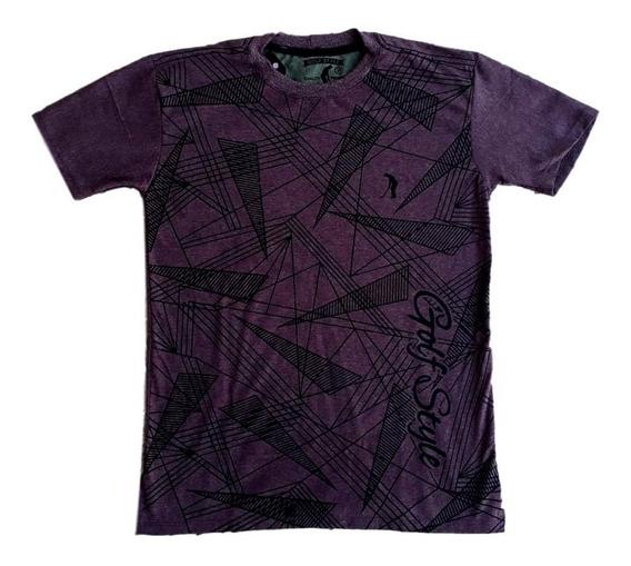 Kit 10 Camisetas Camisa Masculina Diversas Marca Famosa Cva