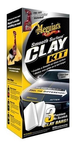 Kit Clay Bar Meguiars Para Desfogueo