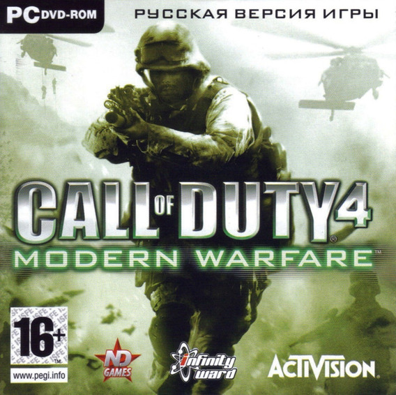 Call Of Duty 4 Modern Warfare Pc Jogo Digital