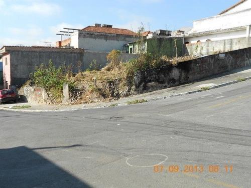 Terreno A Venda No Bairro Parque Continental Ii Em Guarulhos - 1772-1
