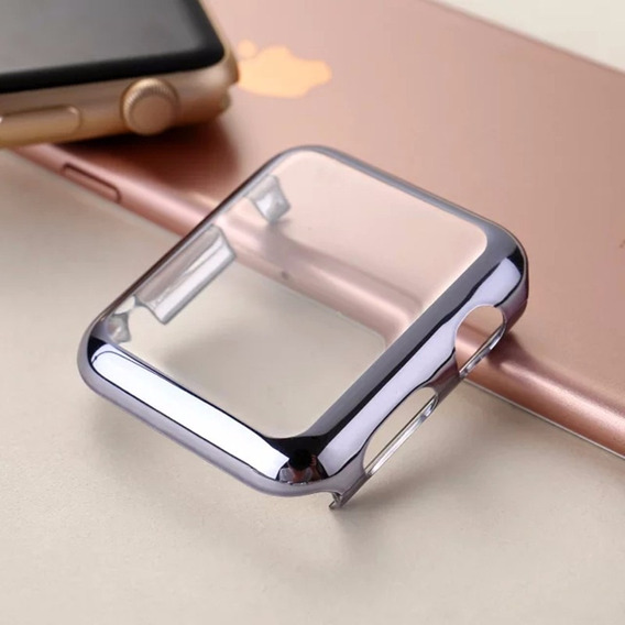 Funda Protector Para Apple Watch 38mm. Con Electrochapa