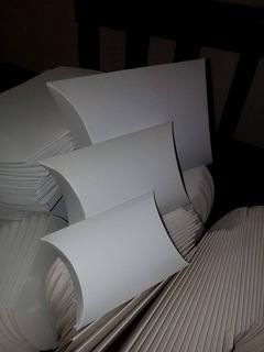 Cajas Blancas, De Cartón, Empaque,joyeria 10x10 (12 Pzas.)