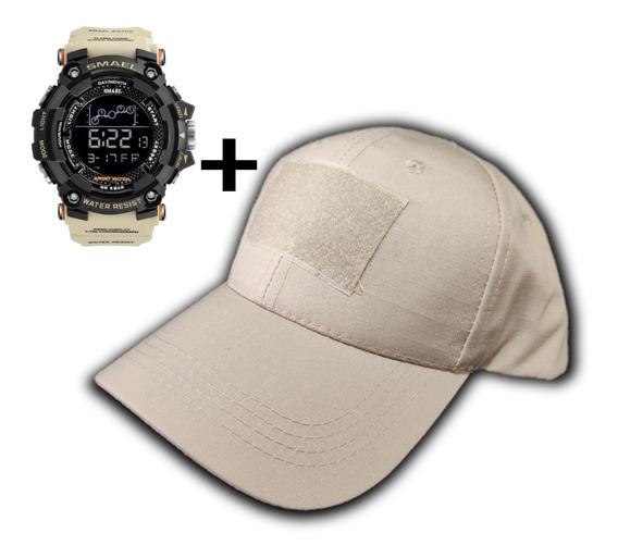 Relógio Smael Militar Masculino + Boné Tático + Frete