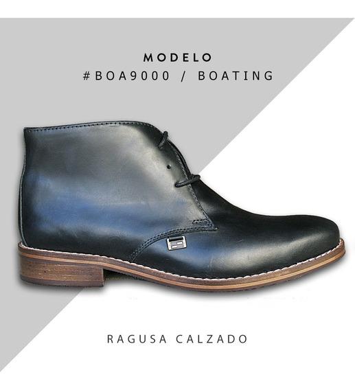 Zapatos / Botas De Cuero Boating Hombre - Debonair