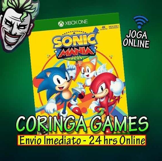 Sonic Mania Xbox One Mídia Digital + 2 Brinde