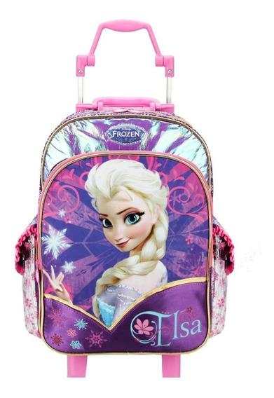 Mochilete Escolar Dermiwil Frozen Elsa 60211 Shop Tendtudo