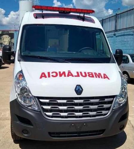 Imagem 1 de 8 de Renault Master Ambulancia L2h2 Grand Furgao