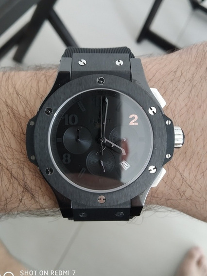 Relógio Hublot Big Bang Cerâmica All Black 44mm