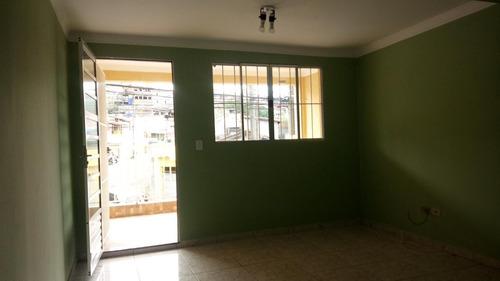 Imagem 1 de 15 de Casa Para Locação Em São Paulo, Jardim Soraia, 2 Dormitórios, 1 Banheiro, 1 Vaga - Cs327_1-1633986