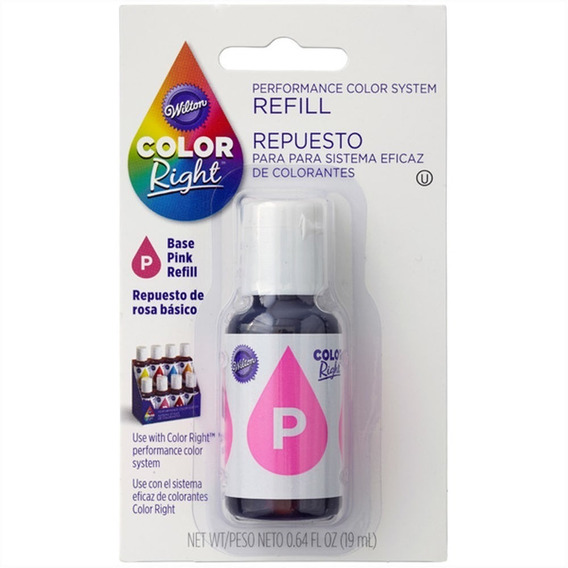 Colorante Rosa Wilton Color Right Concentrado 610-950