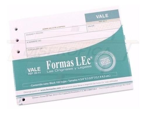 Forma Lec Vale Caja Chica Ref. 20-11 Ts511