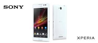 Celular Sony C C2304 Xperia C Tela 5 4gb 8mp Branco 2 Pçs