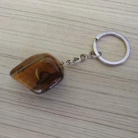 Chaveiro De Pedra Olho De Tigre Ref: 7876