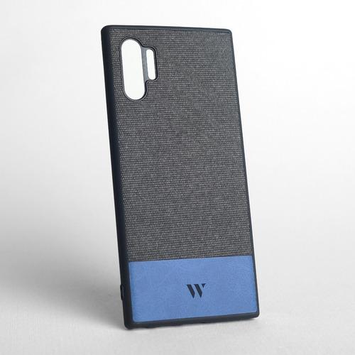 Funda Walden® Gunver Galaxy Note 10 Plus Tejido Gros Cuero
