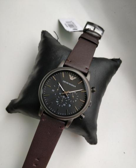Relógio Empório Armani Black Qualidade Aaa+