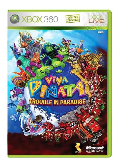 Viva Piñata Trouble In Paradise - Xbox 360 - Usado -original